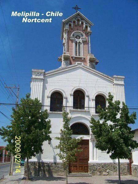 Iglesia San Agustín, Melipilla.