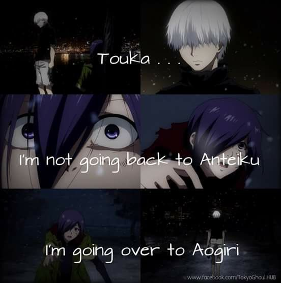 That's how the first season should have ended. Tokyo Ghoul root A episode 1