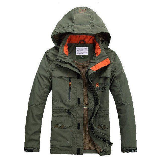 Men Jackets Windproof Coat Men Tourism Mountain Jacket Quality Fashion Coats Male Plus Size