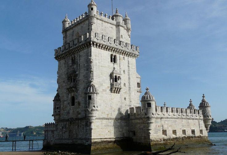 tour de Belém - Lisbonne - Blog Voyage Trace Ta Route  www.trace-ta-route.com  http://www.trace-ta-route.com/week-end-lisbonne-sintra/  #portugal #lisbon #lisbonne #belem #tour #tower