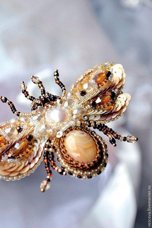 Honey bee nature jewelry insect jewelry bee door PurePearlBoutique