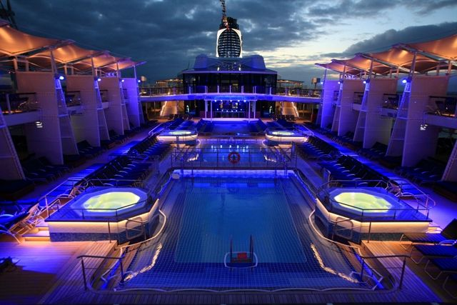 Pool deck - Celebrity Reflection