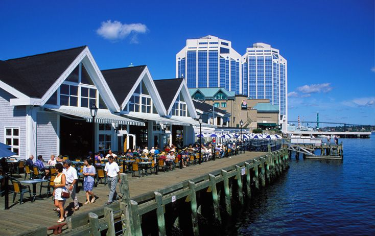 The Halifax Waterfront