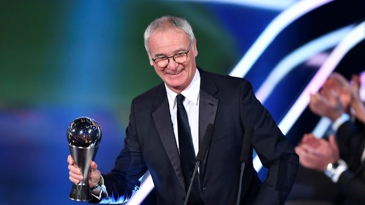 Claudio Ranieri was named FIFA Coach of the Year for 2016