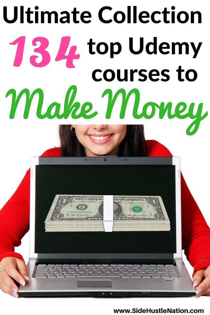 Ultimate Collection 134 top Udemy courses to make money is perfect for side hustlers, entrepreneurs, freelancers, and those seeking to make a little extra cash on the side. For $15 or less these courses give you the knowledge and power to start your side hustle business right. Well worth the time and money...can't wait to choose my next course this weekend!