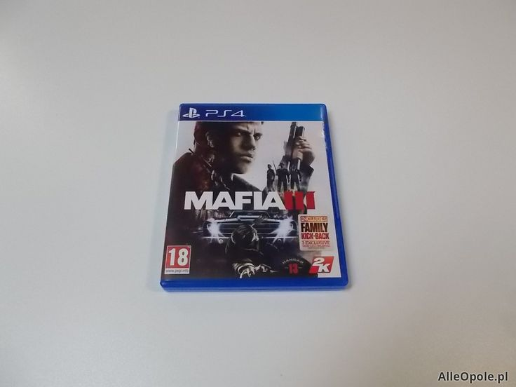 Mafia 3 III - GRA Ps4 - Opole 0495 (Opole)