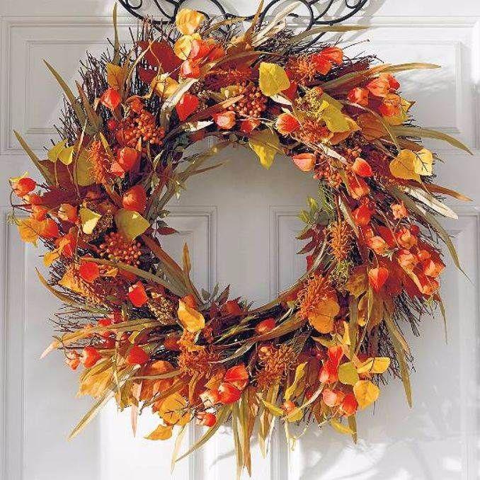 55 Cozy Egyszerű őszi és hálaadás díszítő ötletek (64)
