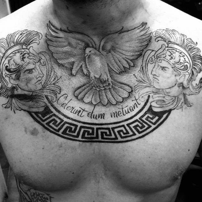 Greek Tattoo Tattoo Ideas Mythology Tattoos Chest