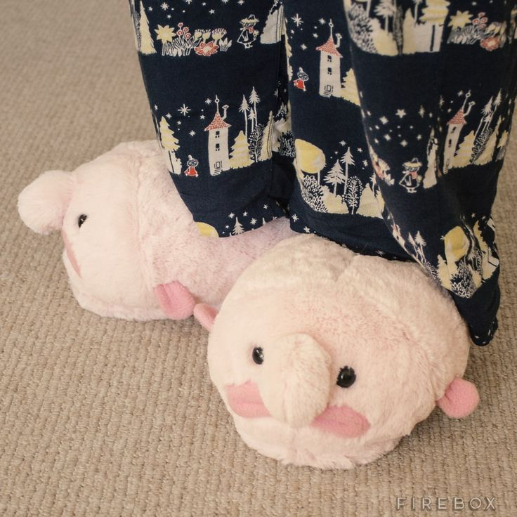 Blobfish Slippers  I really really want these lol