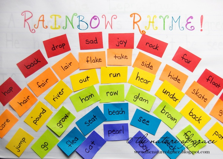 119 best images about Rhyme Time! on Pinterest   Activities ...