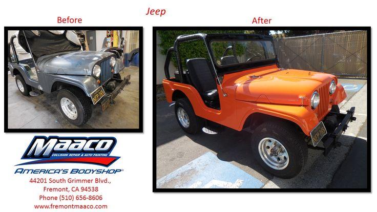1960 JeepColor ChangeMaaco Fremont Collision repair
