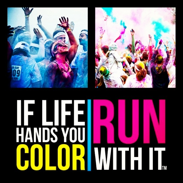 #colourrun #colorrun