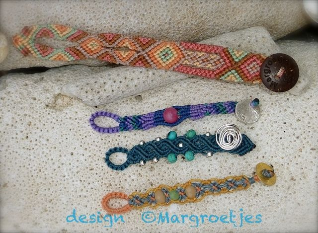"Extensions for ""Bootlets"" or anklets! To make a Bootlet or anklet of your bracelet!  Idea and made by Margroetjes"