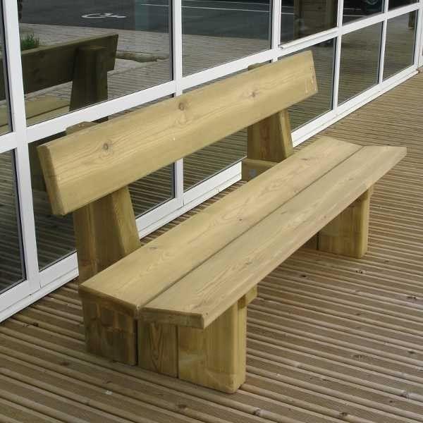banc bois laon legno panca wooden bench pinterest. Black Bedroom Furniture Sets. Home Design Ideas