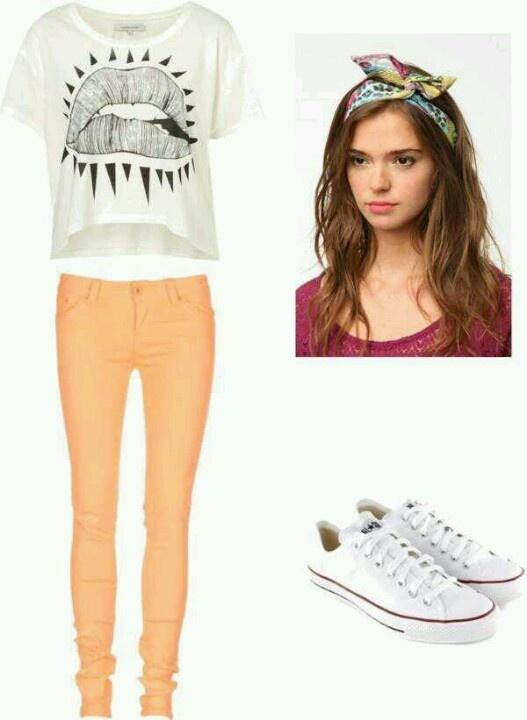 Rainbow trousers ;)