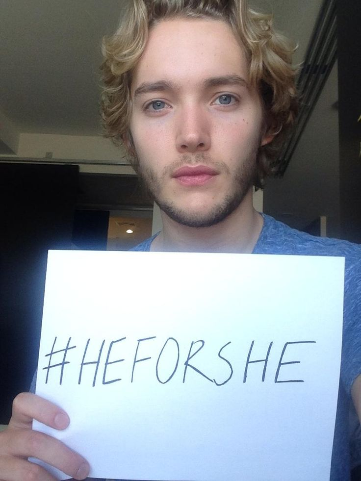 Toby Regbo @toby_regbo · Sep 26 'Gender equality is not a women's issue, it's a human rights issue'. #proudtobeafeminist @heforshe