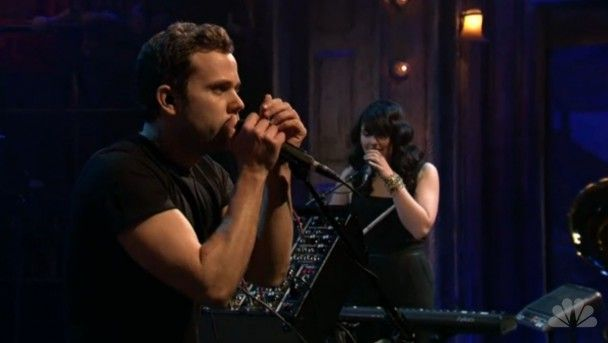 Another one of #M83 performing. #music