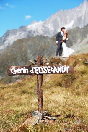Mountain wedding in France © Erlend Haugen Photographer  #www.frenchriviera.com