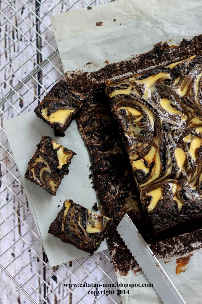 Cheese Cake Brownies Catatan Nina Makanan Makanan Manis Kue Lezat