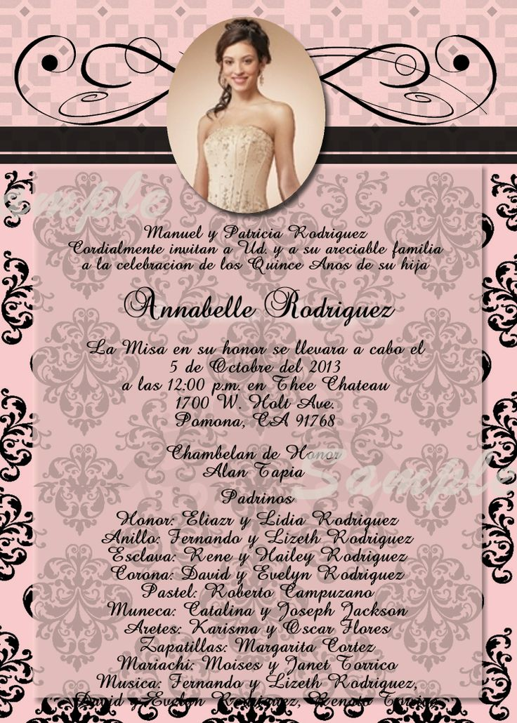 12 best special occassion invitations images on pinterest paris theme quinceanera sweet sixteen birthday invitation invitation is customized to either or high resolution digital file jpeg which you can print solutioingenieria Choice Image