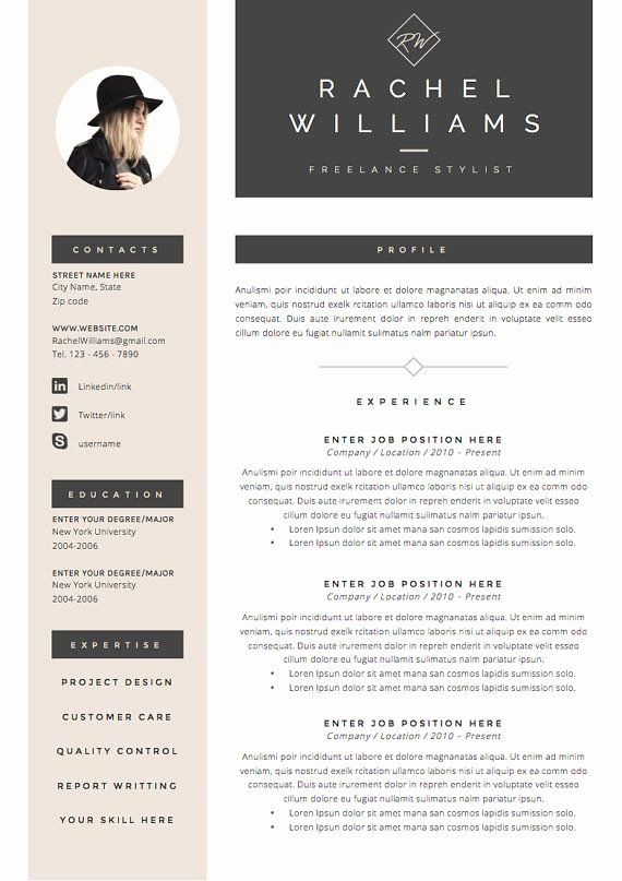 Free Creative Resume Templates Word Luxury 25 Best Ideas About Creative Cv Template On Pinterest Infographic Resume Cv Template Resume Design