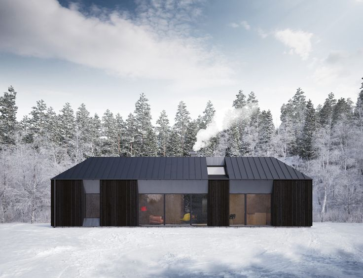 The Tind Prefabricated Home Was Developed By The Swedish Design Group Claesson Koivisto Rune