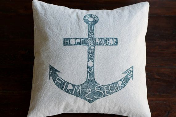 Anchor for the Soul Pillow Cover (18 x 18 inch)