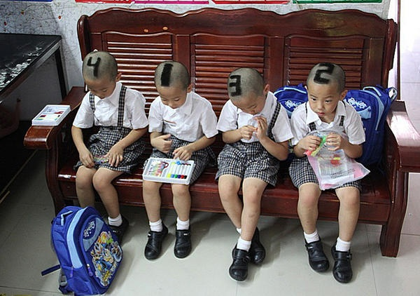Twitter / camanpour: SIX-YEAR-OLD QUADRUPLETS from ...