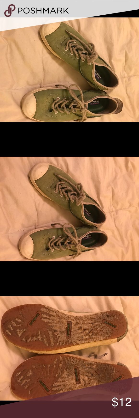 Patagonia shoes size 8 Great condition Patagonia shoes size 8 green Patagonia Shoes Sneakers