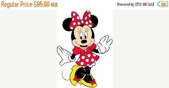 ON SALE Vintage Minnie Mouse Halloween Costume by TheIDconnection