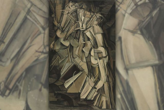 When Duchamp's 1912 painting debuted, it sparked one of the greatest uproars the art world has ever known. - 15 Scandalous Facts About Duchamp's 'Nude Descending a Staircase, No. 2' | Mental Floss