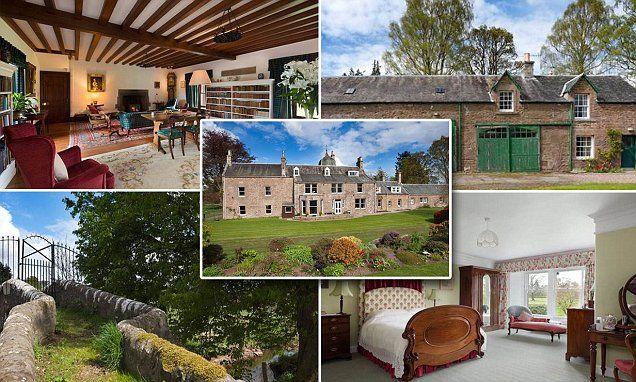 Scottish estate for sale at £1.5million
