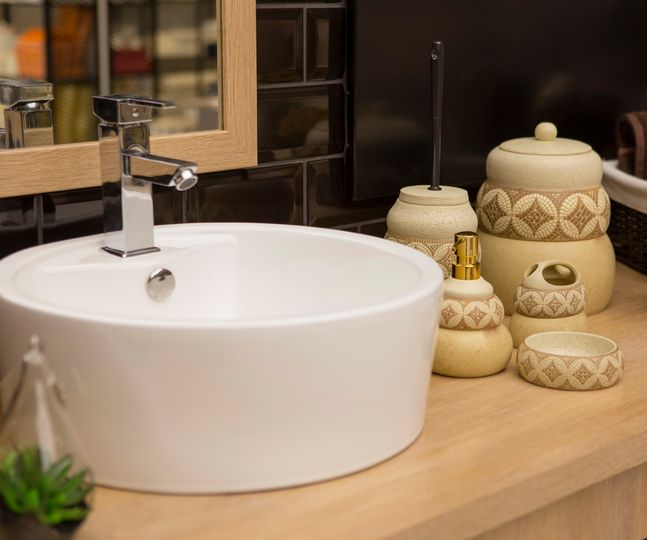 #Decor101: Tips For Stylish Bathrooms Cover Up Product Packaging. Using A  Refillable Soap
