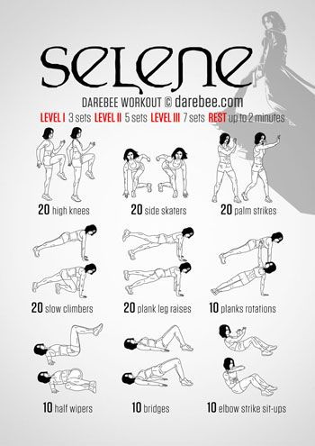 selene workout more  superhero workout hero workouts