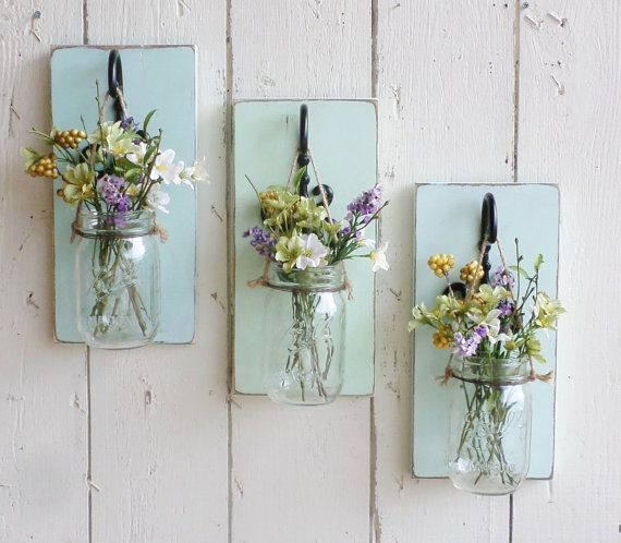 15 Crafty Diy Projects For Your Mugs And Mason Jars Hanging Mason Jars Mason Jar Diy Mason Jar Sconce