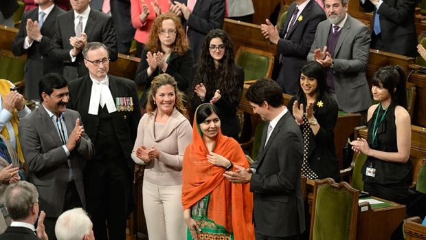 The prepared text of Malala Yousafzai's speech Wednesday to MPs, senators and dignitaries during a joint session of Parliament:    Please share.  Thank you.  Love and a HUGE Squish,    Alison Myrden​ xx Federal Medical Cannabis Exemptee in Canada since 1994 http://www.AlisonMyrden.com/ Retired Law Enforcement Officer Speaker for LPP Lawmen Protecting Patients http://www.lawmenpro.org/Lawmenpro/LPP_MAIN.html