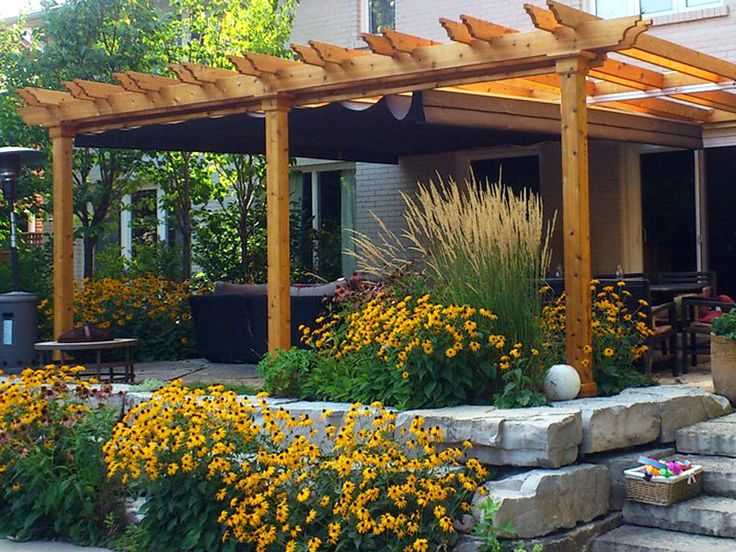retractable pergola cover that can handle the wind and rain. For when we  redo the - 25+ Best Ideas About Retractable Pergola On Pinterest Sun Shades