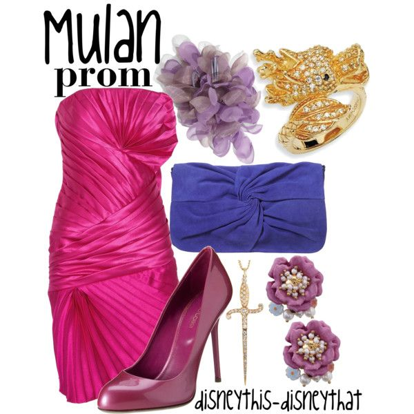 Mulan Prom, created by disneythis-disneythat on Polyvore