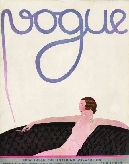 ⍌ Vintage Vogue ⍌ art and illustration for vogue magazine covers - 1930