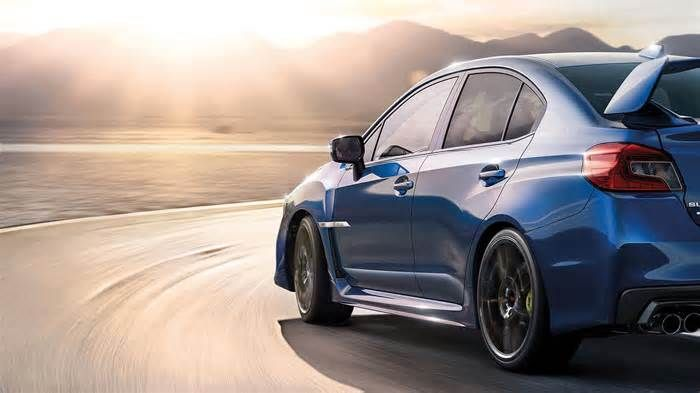 Subaru WRX STI ends UK run with Swansong Final Edition The car's multifunction display is now 5.9 inches, up from a previous 4.3. Aside from the badge, if those updates sound familiar, that's because it's the same host of updates that Subaru brought to both the US-spec WRX and STI for the 2018 model year.