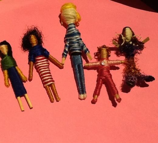 Craft a Worry Doll
