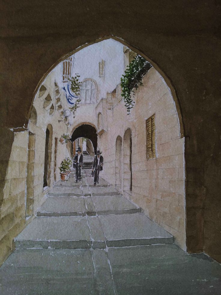 Passage in the old city, Jerusalem SOLD