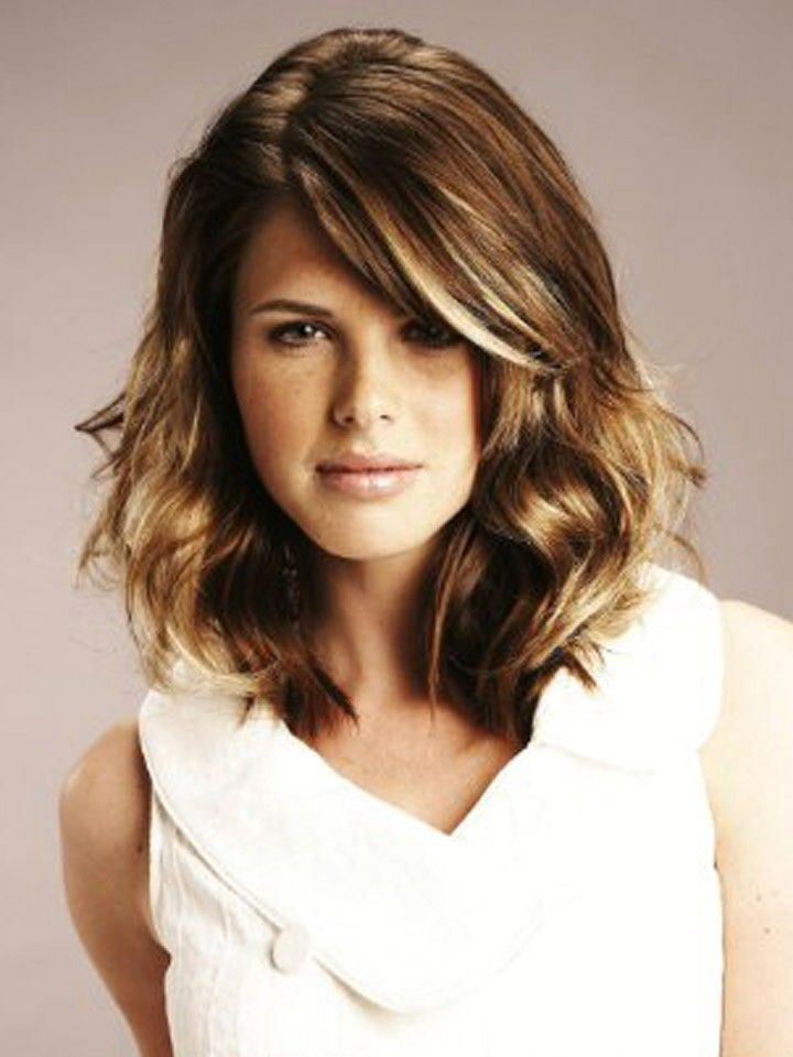 19 best medium length haircuts images on Pinterest | Hairstyles ...