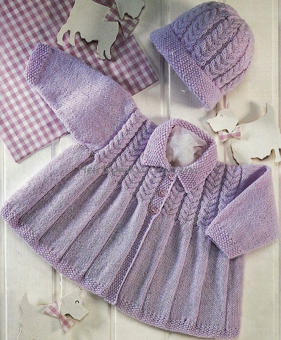 571 0-2yrs Adorable Baby/ Toddler Girls by HeirloomKnitPatterns