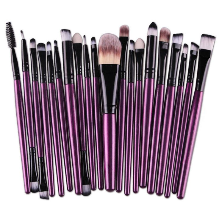 20 Pcs Pro Makeup Set Powder Foundation Eyeshadow Eyeliner Lip Cosmetic Brushes | Health & Beauty, Makeup, Makeup Tools & Accessories | eBay!