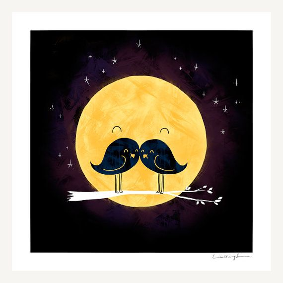 Moonstache print....so cute!!