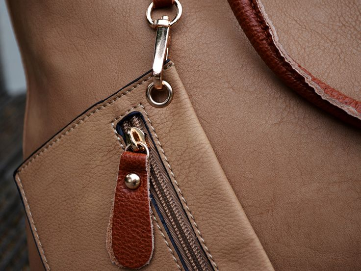 Real leather bag-within-a-bag - £45.