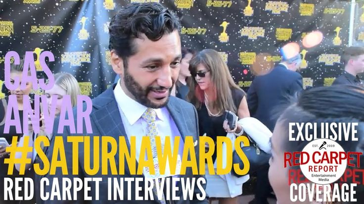 Cas Anvar #TheExpanse interviewed at the 43rd Annual Saturn Awards #Satu...Excellent video interview Cas Anvar did went to 43rd Annual Saturn Awards. Wonderful up dates what is Cas doing lately