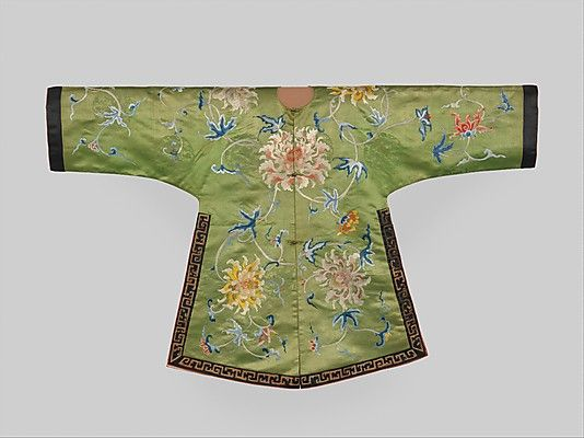 Jacket for a Theatrical Costume Period: Qing dynasty (1644–1911) Date: 18th…