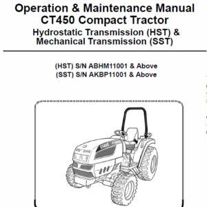 Bobcat 863 and 863H Skid-Steer Loader Service Manual